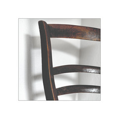 the old wooden chair (Armin Fuchs) Tags: arminfuchs chair wood shadows corner square niftyfifty