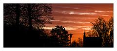 Bellahouston Park (ianmiddleton1) Tags: glasgow sunrise winter panorama