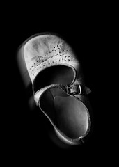 Little Whispers (AJWeiss71) Tags: shoe shoes childhood girl lost abandoned haunted haunting ghost melancholy memento memories stilllife sadness amyweiss forgotten