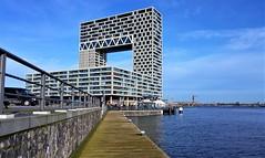 Pontsteiger & pontsteiger (Peter ( phonepics only) Eijkman) Tags: amsterdam city ferry pont pontveer gvb water ij grachten gracht canals nederland netherlands nederlandse noordholland holland