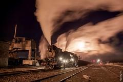 Steam locomotive... (N.Batkhurel) Tags: season winter steamlocomotive ngc nikon nikondf nikkor 24120mm locomotive railway railfan railroad mining sandaoling xinjiang china trains trainspotting transport