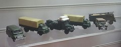 Military Vehicle Model Collection (andreboeni) Tags: military vehicle model collection classic truck lorry hgv camion poidslourds classique rétro retro oldtimer klassik classica classico trucks lorries camions miniature 143 scale modellauto models miniatures modell greengoddess bedfordca austina40 landrover bedfordtj fireengine