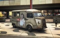 Citroen truck (try...error) Tags: auto car classic revue grey grau silver red rot mondial wien vienne vienna austria autriche sony rx 100 vi rx100 rx100vi white woman automobile