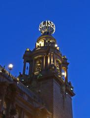 Coliseum Theatre (amandabhslater) Tags: london 2020 coliseum theatre globe lighting revolving letters