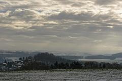 Hiver - Vue sur Chaply (Esneux - Sprimont) 2 (Nicopope) Tags: paysage landscape landschaft landscap esneux nikon ciel nuages chaply sprimont nature hiver winter neige snow schnee wallonie belgium hivernal