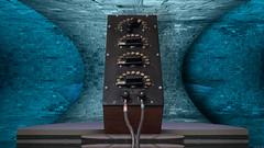 General Radio 102-K crypic 4K wallpaper (jeffpeletz@bell.net) Tags: generalradio genrad gr decade resistancebox manganin wirewound precisionresistor vintage test equipment earlyelectricity antiques desktop 4k wallpaper