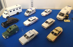 Police Model Car Collection (andreboeni) Tags: police model car collection classic automobile cars automobiles voitures autos automobili classique voiture rétro retro auto oldtimer klassik classica classico miniature 143 scale modellauto models miniatures modell riley rm fordcortina roverp6 rover3500 jaguarxj6