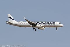 OH-LZG - 2013 build Airbus A321-231, on approach to Runway 06L at Palma (egcc) Tags: 5758 a321 a321231 ay airbus fin finnair lepa lightroom majorca mallorca ohlzg pmi palma sharklets
