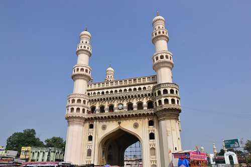 The four Minarets of Hyderbad
