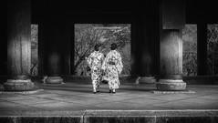 Kyoto Street (Andrew Allan Jpn) Tags: street streetfashion streetphotography streetportrait streetstyle streets japan japanesegirl japanesewoman fashion travel traditional travelportrait japanese kyoto temple 40mm