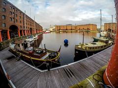 Royal Albert Dock (Tony Shertila) Tags: england gbr liverpool unitedkingdom albertdock boats britain dock europe geo:lat=5340071951 geo:lon=299437405 geotagged merseyside warehouse ©2019tonysherratt 20191116150924 gopro