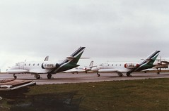 F-BVPG (IndiaEcho) Tags: airport aircraft aviation aeroplane airfield air cardiff uni corvette aerospatiale cwl fbvpg fbvps