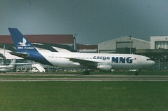 TC-MNB (IndiaEcho) Tags: airport aircraft aviation aeroplane airfield mng tcmnb airbus luton a3000 ltn