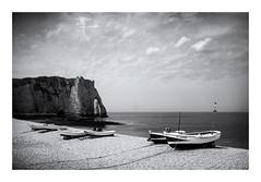 Seascape (madras91) Tags: landscape seascape sea etretat nb noiretblanc blackandwhite bw monochrome