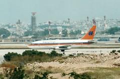 D-AHLH (IndiaEcho) Tags: airport aircraft aeroplane airfield airlikner aviation jet lloyd boeing hapag 737200 dahlh