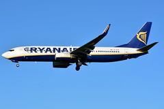 EI-EVX Boeing 737-8AS Ryanair (BRU/EBBR) (geoffrey.zdcki) Tags: spotting spotter bru brussels belgium brusselsairport bruxelles belgique ebbr aviation avion nikon landing eievx boeing 738 7378as ryanair ireland