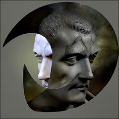 Arte conceptual - Conceptual art (COLINA PACO) Tags: retrato ritratto portrait collage escultura sculpture photomanipulation fotomanipulación fotomontaje arteconceptual conceptualart franciscocolina