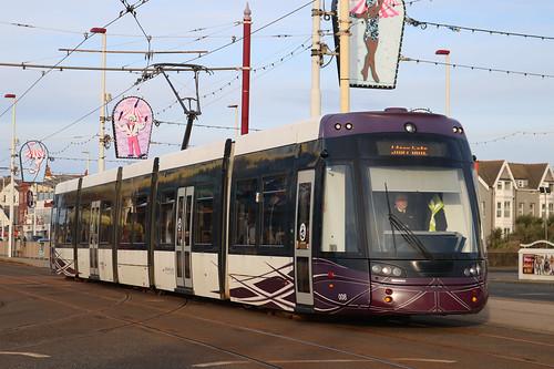 Blackpool Trams: 008 Pleasure Beach