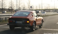 Saab Sonett III (XBXG) Tags: kiq5h saab sonett iii saabsonettiii sonettiii saab97 coupé coupe a2 rosmalen nederland holland netherlands paysbas vintage old classic swedish car auto automobile voiture ancienne suédoise sverige sweden zweden vehicle outdoor orange