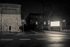 Piekary Śląskie (nightmareck) Tags: piekaryśląskie śląskie górnyśląsk silesia polska poland fujifilm fuji fujixt20 fujifilmxt20 xt20 apsc xtrans xmount mirrorless bezlusterkowiec xf18mm xf18mmf20r fujinon pancakelens night handheld monochrome