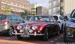 Jaguar 340 1967 (XBXG) Tags: 9168ef jaguar 340 1967 jaguar340 jaguarmark2 mark2 mk2 interclassics 2020 forum mecc maastricht limburg nederland holland netherlands paysbas vintage old classic british car auto automobile voiture ancienne anglaise uk brits vehicle outdoor