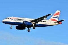 G-EUOD Airbus A319-131 British Airways (BRU/EBBR) (geoffrey.zdcki) Tags: brussels belgium spotting bru spotter nikon belgique aviation bruxelles landing airbus ba britishairways avion a319 ebbr brusselsairport a319131 geuod england