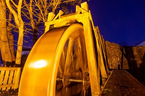 Mill on the Fleet Waterwheel