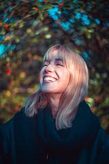 Ylona (Pietro__c) Tags: ylona portrait helios bokeh girl sunbeam walkinthepark park tilburg stadspark colors ragazza outside olanda colorful holland dreamy smile laugh meisje vrouw sony sonya7iii ilce7m3 helios44m7 f2 naturallight