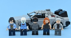 Movies minifigs #10 : Ready Player One🎮 (Alex THELEGOFAN) Tags: lego legography minifigure minifigures minifig minifigurine minifigs minifigurines movie film ready player one delorean car parzival wade watts game videogame oasis