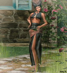 New styling 602 (bettyfl) Tags: betty bettyfl summer night plazza piata square chilly boots legs girl skin fashionista fashionlover fashion model modeling poser pose posing femme milf woman beauty sexy sensual elegant chic opensim hypergrid os hg