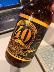 40th Hoppy Anniversary Ale - Sierra Nevada Brewing Company (_BuBBy_) Tags: 40th hoppy anniversary ale sierra nevada brewing company beer ipa india pale