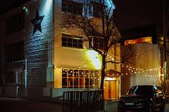 2118/1743 (june1777) Tags: snap street alley seoul night light bokeh sony a7ii konica hexanon ar 50mm f17 2500 clear shinsadong vin9