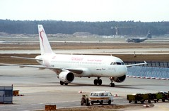 TS-IME (IndiaEcho) Tags: airport aircraft aviation jet aeroplane airfield airlikner tunis tsime frankfurt air airbus fra a320