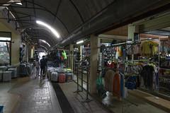 Local Shopping Arcade (MSM_K_JP) Tags: sony a6500 sigma 16mm laos luangphabang shopping arcade clothes store luangprabang