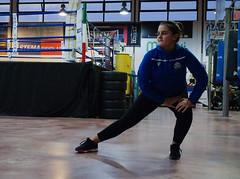 7724 - Stretching (Diego Rosato) Tags: boxe boxing pugilato boxelatina allenamento training stratching little boxer piccolo pugile ring