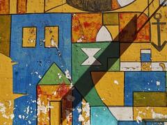 Street art (carlos_ar2000) Tags: pared muro wall arte art calle street color colour abstract abstracto suereal cubismo ciudadvieja montevideo uruguay