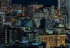 hilton skydome (pbo31) Tags: sanfrancisco california nikon d810 night dark color january 2020 boury pbo31 winter city urban civiccenter patrix siemer over foxplaza rooftops hotel