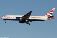 G-RAES (Baz Aviation Photo's) Tags: graes boeing 777236er british airways heathrow runway 27l ba176 from new york