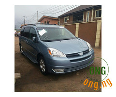 Toyota Sienna 2005 for sale with the full option. (omoresther2008) Tags: olx nigeria olxnigeria nig abuja lagos phones sell buy online