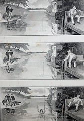 1896 van ALLES  WAT (Steenvoorde Leen - 16.9 ml views) Tags: 1896johanbraakensiek vreemdevangst 1896johancoenraadbraakensiek johanbraakensiek18581940 tekening illustrator kunstschilder tekenaar picture gravure drawing design draught dessin zeichnung bild extraction prelievo desenho desenhos ritningg dragning borttaganda kunst konst art arte