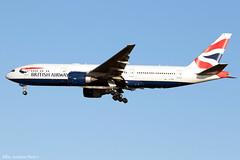 G-VIIE (Baz Aviation Photo's) Tags: gviie boeing 777236er british airways heathrow runway 27l ba226