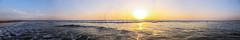 Always The Sea. (NoBi CooL) Tags: 2019 sea waves sunset orange clouds sky blue purple colors beautiful beach home ocean water life photography nobicool seascape sand swim art sun gold shine light shadows lost