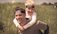 Father and son. (Alex-de-Haas) Tags: 70200mm d5 dutch dutchies europa europe haarlemmermeer holland hoofddorp majorobstaclerun majorobstaclerunfamilyedition nederland nederlands netherlands nikkor nikkor70200mm nikon nikond5 noordholland ocr sportfair toolenburgerplas bootcamp candid child children dirt dirty endurance evenement event familie family fit fitdutchies fitness fun hardlopen kid kids kind kinderen mensen modder mud obstacle obstaclecourserace obstaclecourserun obstacleracing obstaclerun obstakel park people race racing recreatie recreation run runner runners running sport sportief sportiviteit sporty summer team teamspirit teamgeest vies zomer
