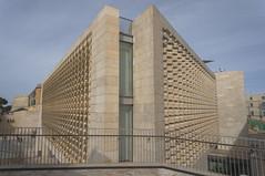 Parliament House (nchavezm) Tags: architecture symmetry perspective valletta malta