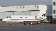 Falcon 2000 | CS-DLL | AMS | 20200118 (Wally.H) Tags: dassault falcon2000 fa2000 da2000 csdll netjetseurope ams eham amsterdam schiphol airport