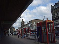 (Chris Hester) Tags: bradford shops 3615p bus stop phone box yorkshire bank happy eid rawson quarter