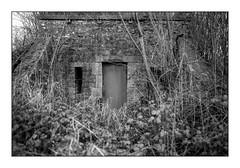 improbable access (Alexandre Dulaunoy) Tags: improbableaccess blackwhite noiretblanc noirblanc bw door nb monochrome urbex