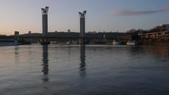 Rouen - La Seine - 19-01-2020 (jeanlouisallix) Tags: rouen seine maritime haute normandie france rivière fleuve cours deau nature eau berges quais reflets