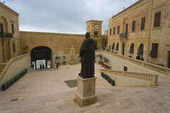 Cathedral of the Assumption (nchavezm) Tags: architecture staircase oldtown history victoria gozo malta
