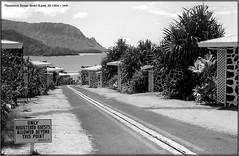 Plantation House Hotel 1964 (jerrywb2010) Tags: hawaii kauai hotel resort 1964 35mmfilm bw filmscanned